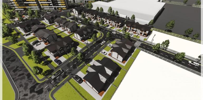 Construire centru comercial in cartierul Orhideea Braila