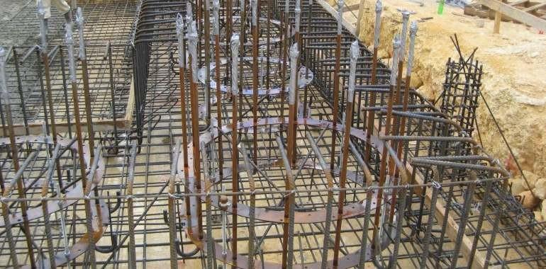 Fasonat fier beton